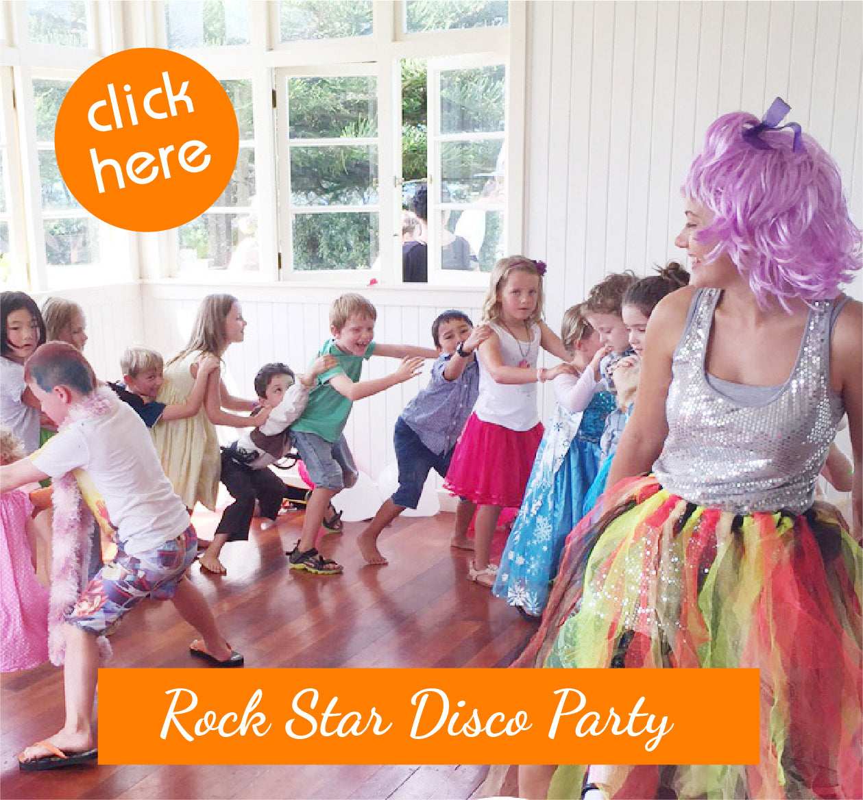 Rock Star Disco Party for Kids