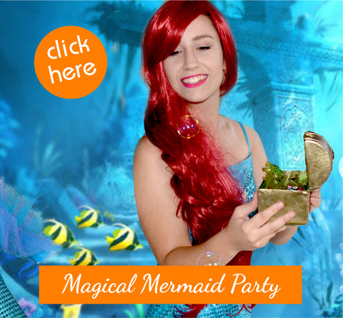 Mermaid Party Entertainers for Kids