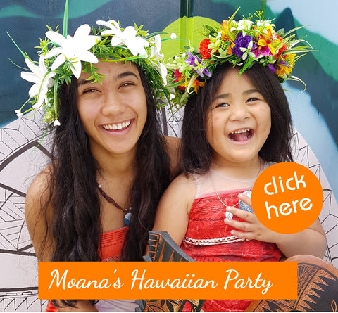 Moana Hawaiian Luau Party Entertainers