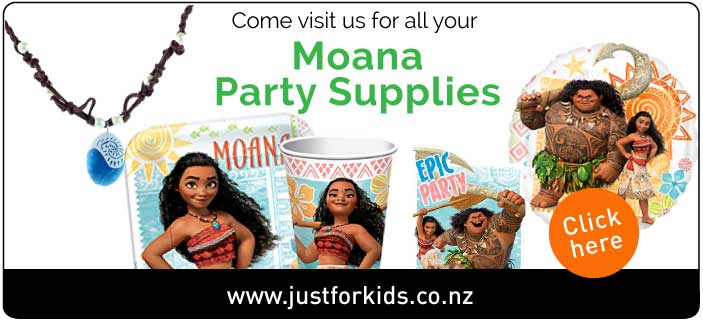 Moana Party Supplies NZ