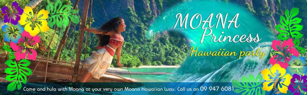 Moana Disney Hawaiian Party