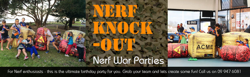 Nerf War Party for boys and Girls