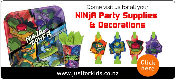 Ninja Party Supplies Auckland