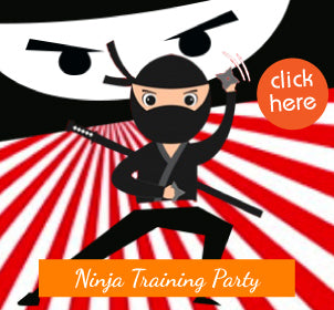 Ninja Training Party for kids | Auckland