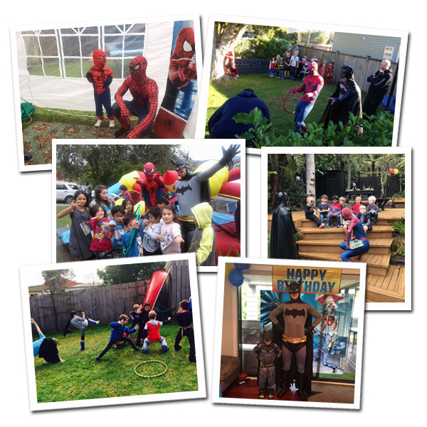 Superhero parties Auckland