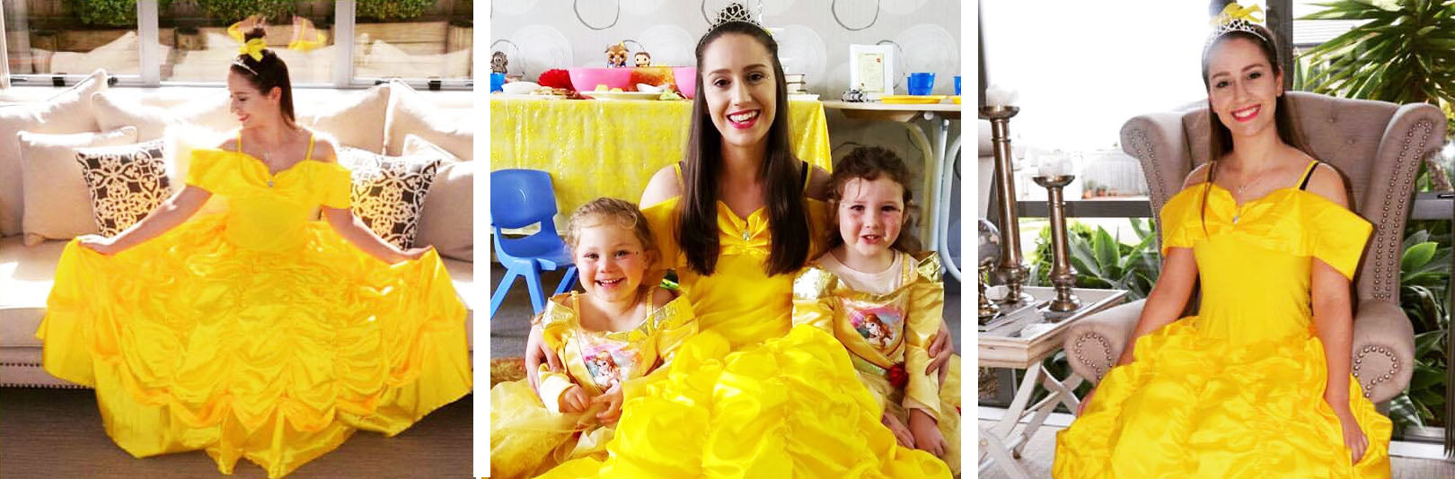 Princess Belle birthday parties Auckland