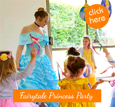 Princess Party Kids Entertainers Auckland