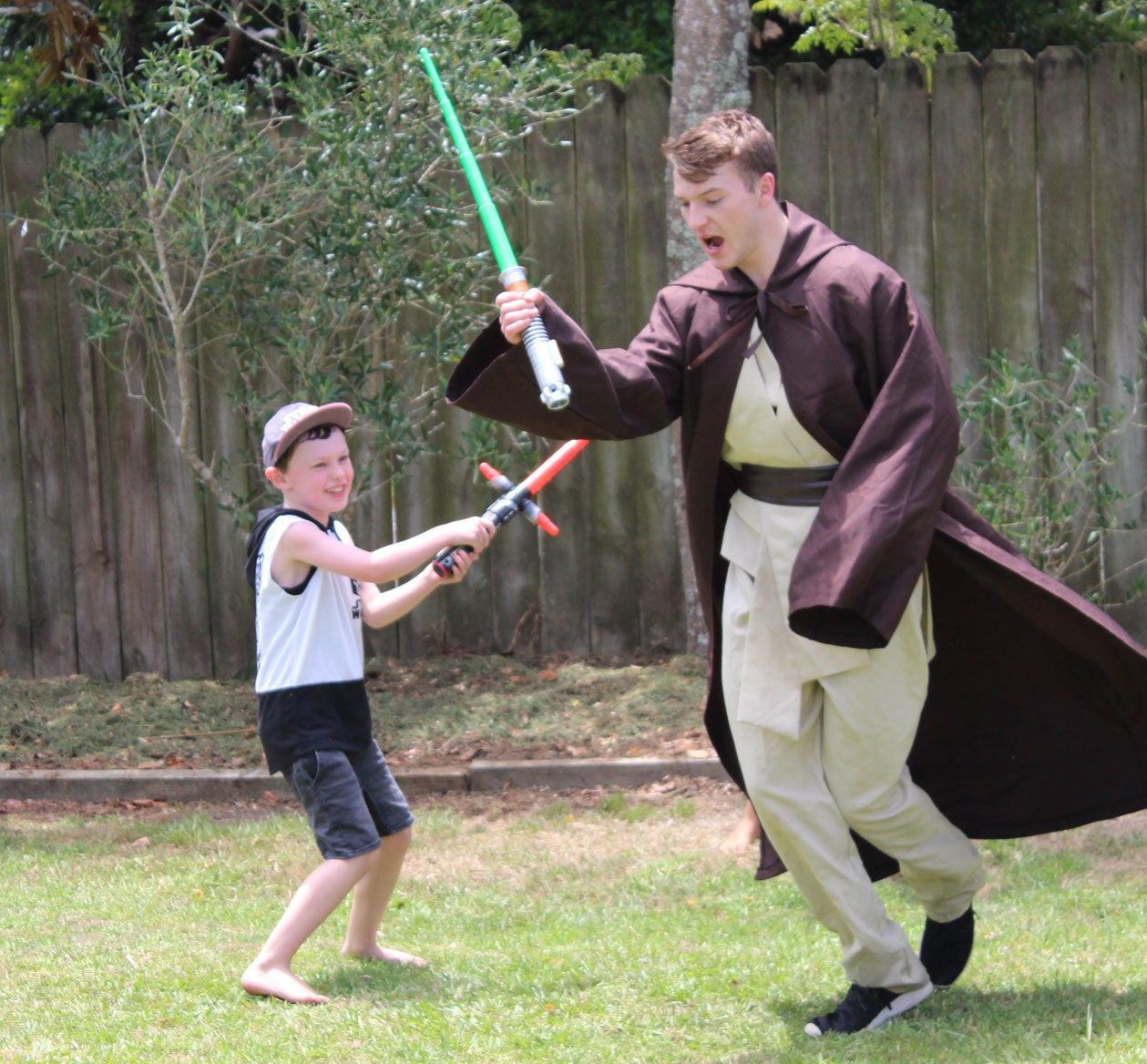 Star Wars Jedi Party Entertainment