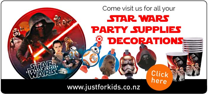 Star Wars Party Supplies NZ