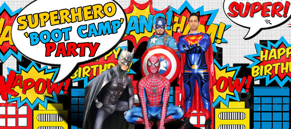 Superhero Party entertainers Auckland