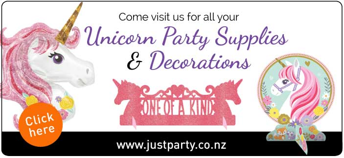 Unicorn Party Supplies and decorations | NZ
