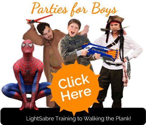 Boys Party Themes Auckland