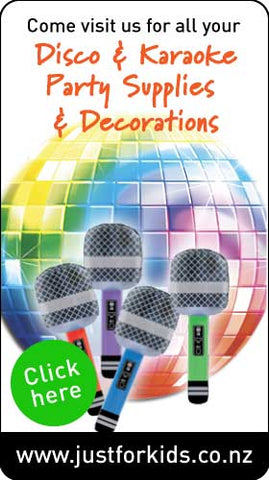Disco & Karaoke party decorations and products