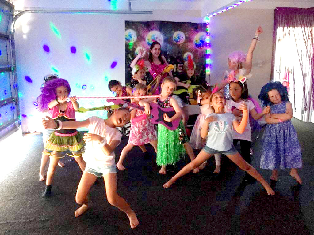 Hosted Disco Parties for kids Auckland