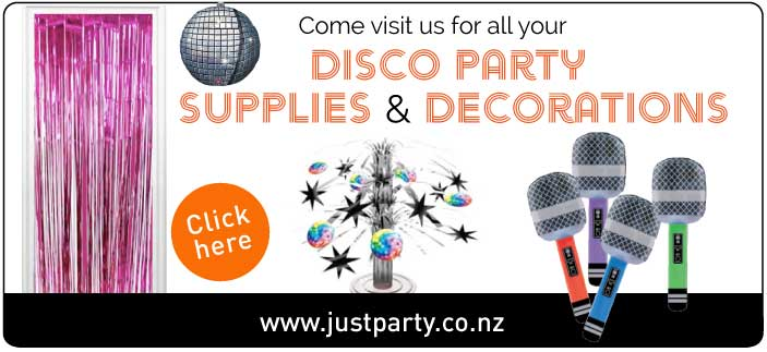 Disco Party Decorations NZ