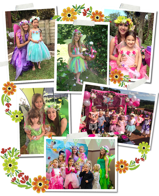 Fairy Fantasia parties for girls, Auckland