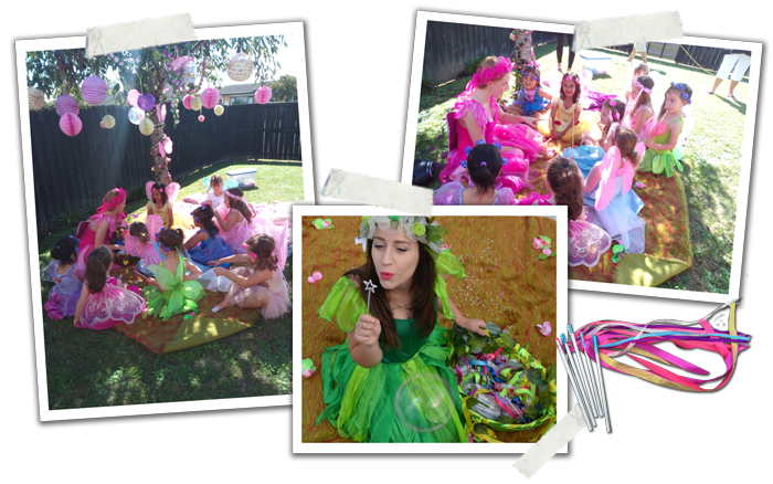 Fairy party entertainers