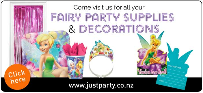 Fairy Party Supplies and Decorations | Auckland