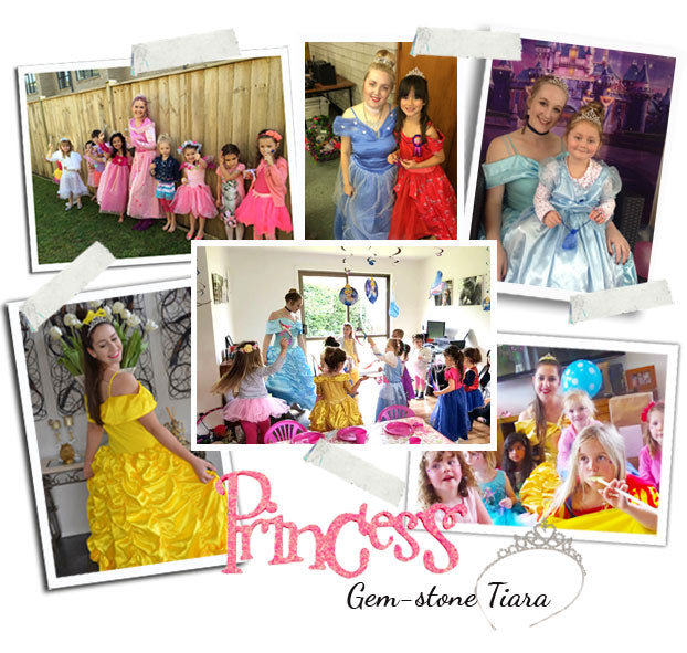 fairytale princess parties
