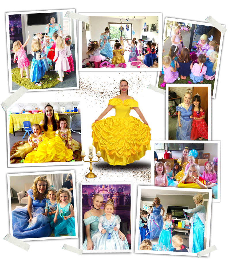 Princess party Entertainers Auckland