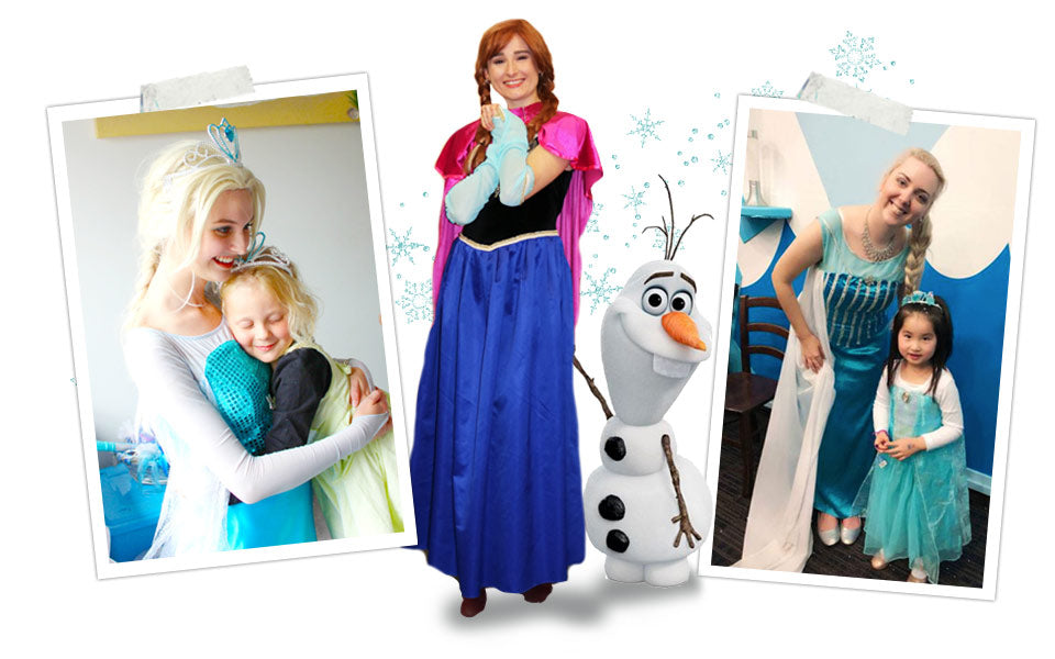 Frozen Elsa & Anna Birthday Parties