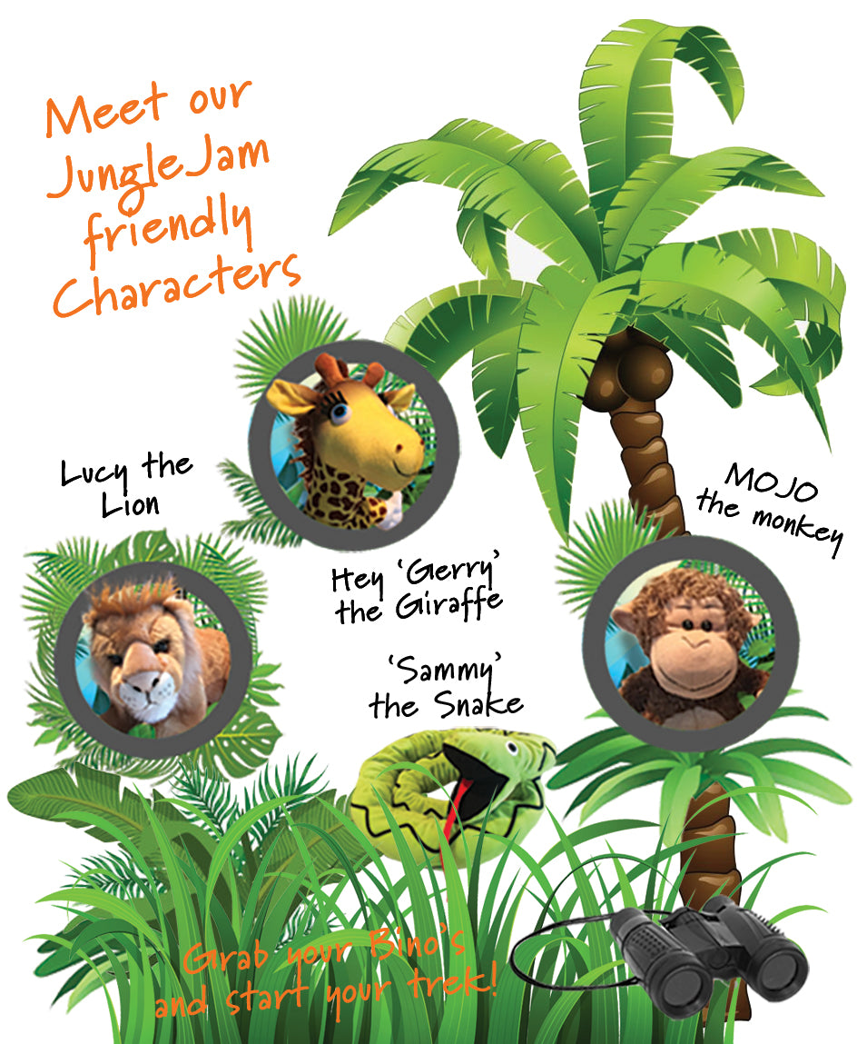jungle jam animals