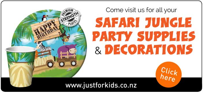 Jungle Party Supplies NZ