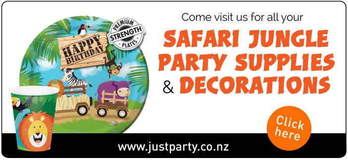 Jungle Safari Party Decorations | NZ