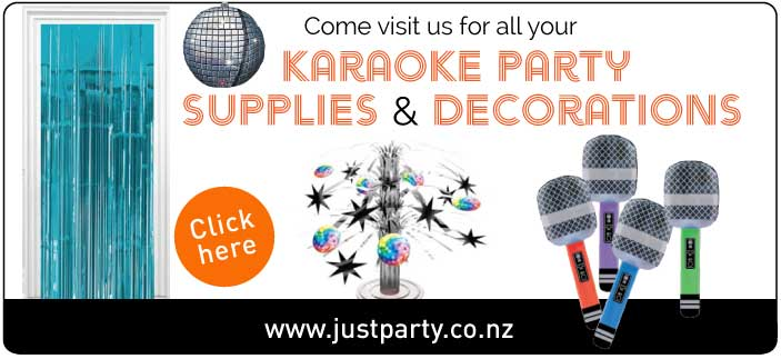 Karaoke party supplies and Decorations NZ
