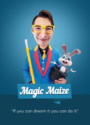 Magci Maize magic show