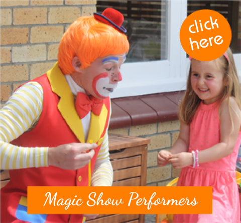 Popcorn the Clown Magic Show