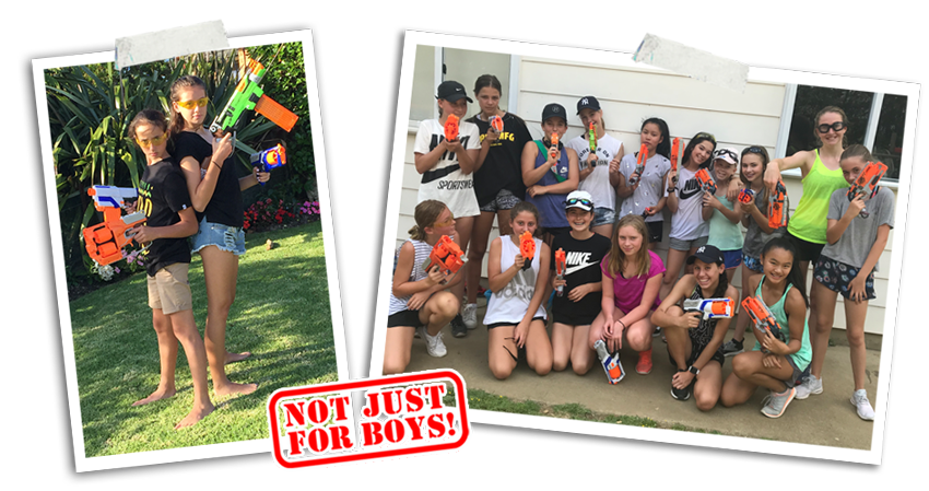 Nerf Battles Mobile Parties | Auckland