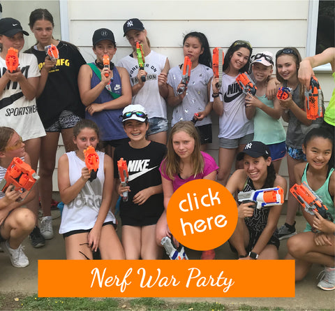 Nerf Party for Girls Auckland