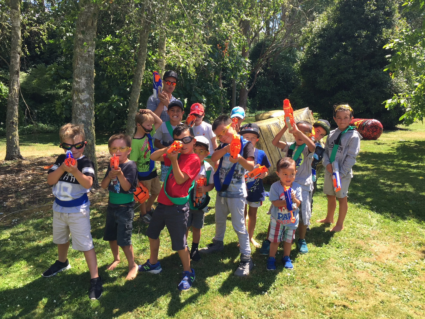 Nerf War Hosted Parties Auckland