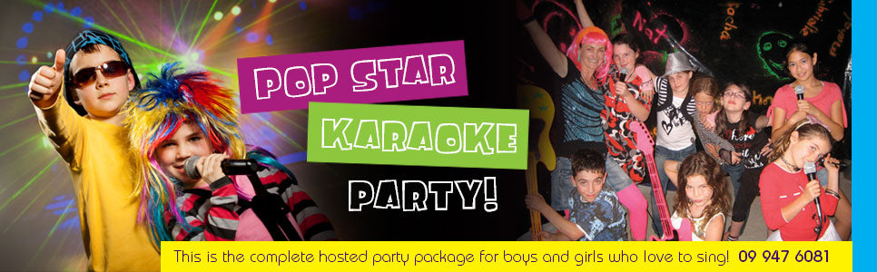 Pop star kareoke parties | Party AT Yours