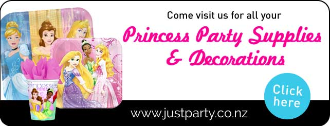 Disney Princess Party Supplies Auckland