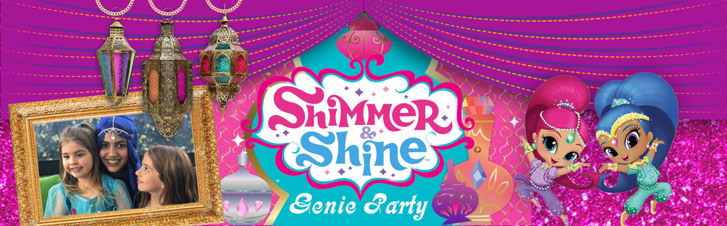 Shimmer and Shine Genie Parties Auckland