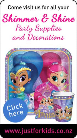 Shimmer and Shine party supplies nz