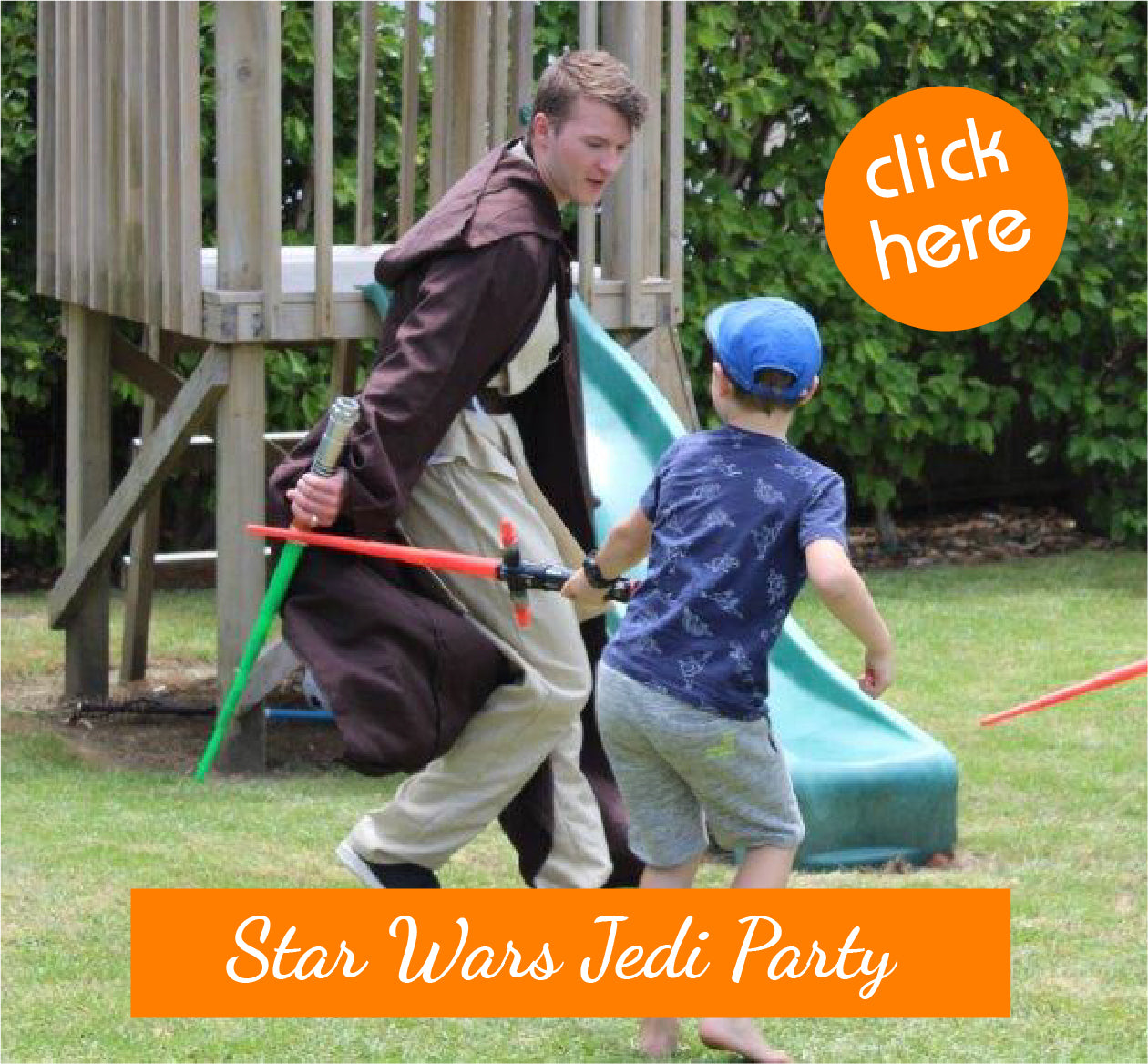 Star Wars Jedi Party Entertainers Auckland