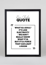 Load image into Gallery viewer, Ray Charles Quote - Wall Art