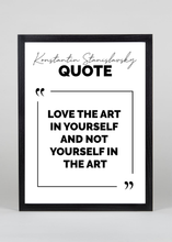 Load image into Gallery viewer, Stanislavsky Quote - Wall Art