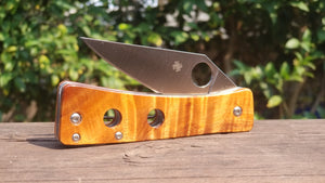 Spyderco Watu Custom Wood Scales