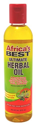 Africa's Best Growth Strengthening Oil therapy