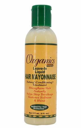 Africa's Best Olive Oil Leave - in liquid hair mayonnaise