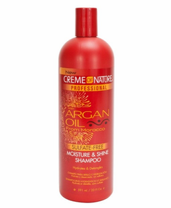 Creme of Nature Professional Argan Moisture and Shine Shampoo