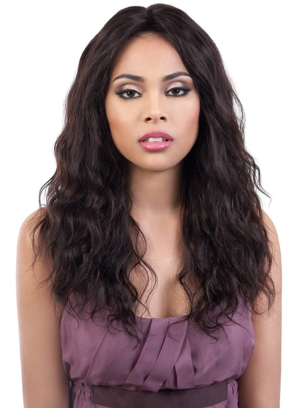 DOVE PERSIAN VIRGIN LACE FRONT WIG 22'