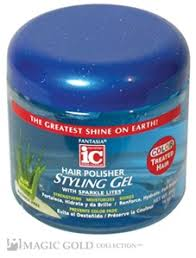 Fantasia IC Polisher Styling Gel for Color Treated Hair, 16 oz Jar