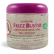 FANTASIA FRIZZ BUSTER STRAIGHTENING GEL, 16 OZ