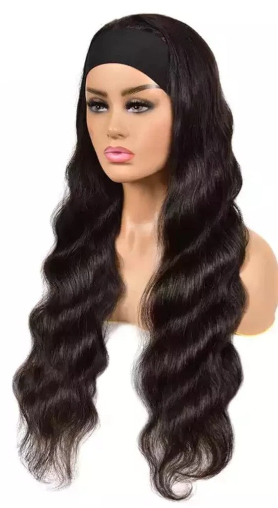 Virgin Head Band Wig-Bodywave
