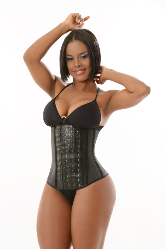 Clásica 3Hooks / 3 Row Latex Waist Cincher